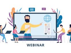 Academic Tip of the Month – Webinars