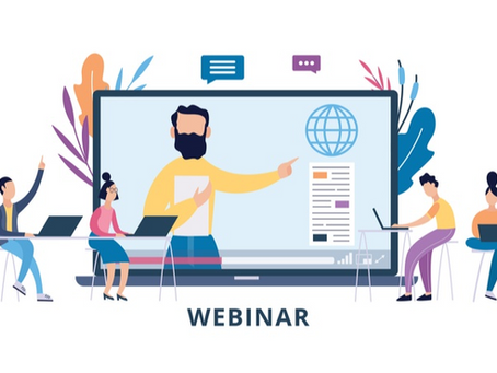 Academic Tip of the Month – Webinars