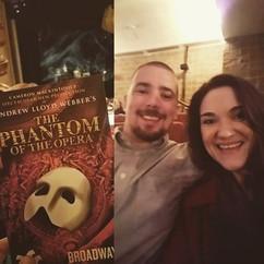 Phantom of the Opera was amazing! #emmag