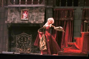 Laura Dennin in GCT's Beauty & the Beast