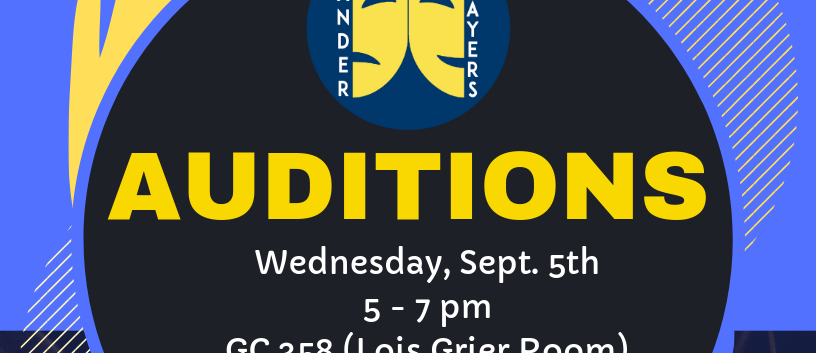 Fall 2018 One Act Flyer- AUDITIONS.png