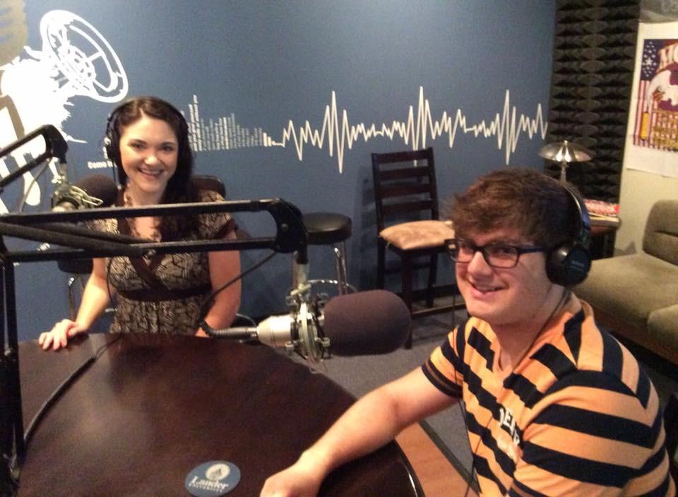 Laura Dennin & Keith Dumais at XLR Radio