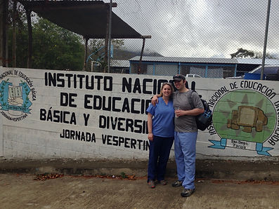 Dr. Anastasia (Staci) Benson and her husband on a mission trip in Guatemala; direct primary care (DPC) Dallas, family medicine, Paradigm Family Health, Concierge Physician in Lakewood
