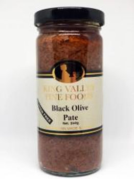 King Valley Black Olive Pate 240gram