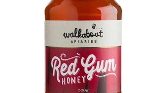 Walkabout Red Gum Honey 500gramm