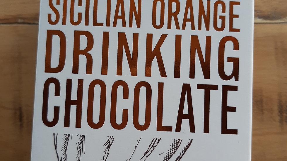 Grounded Pleasures Sicilian Orange Drinking Chocolate 200 gram