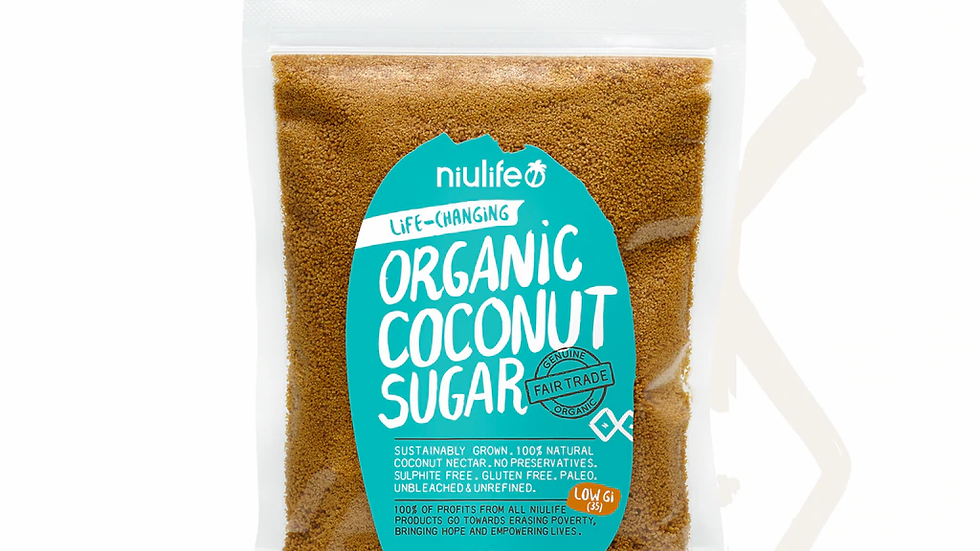 Coconut Sugar - Certified Organic 250g Pouch