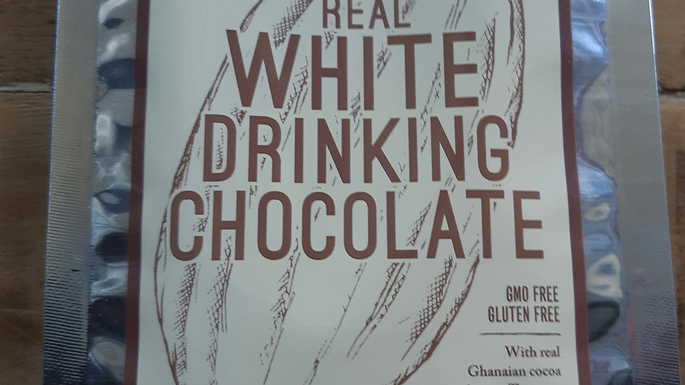 Grounded Pleasures White Drinking Chocolate 200 gram