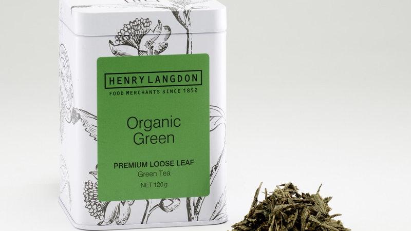 Organic Green Tea 120 gram