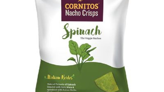Cornitos Nacho Crisps - Spinach & Italian Herbs 70g