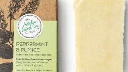 The  Australian Natural Soap Co Peppermint & Pumice Soap