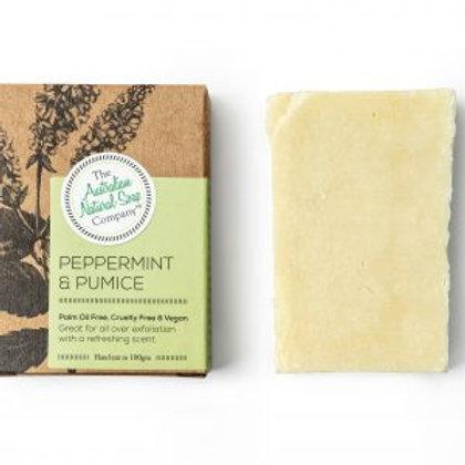 The  Australian Natural Soap Co Peppermint & Pumice Soap