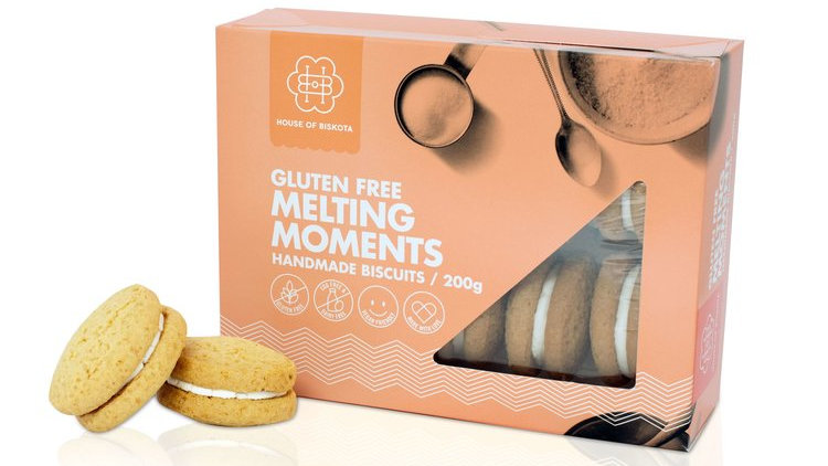 Gluten Free Melting Moments Biscuits 200 gram