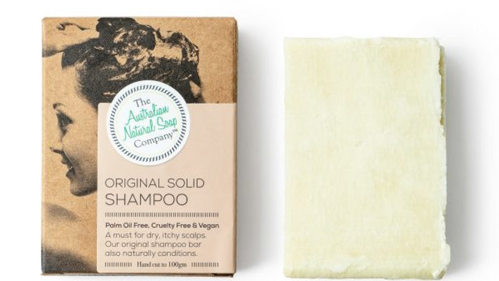 The Australian Natural Soap Co Original Shampoo Bar
