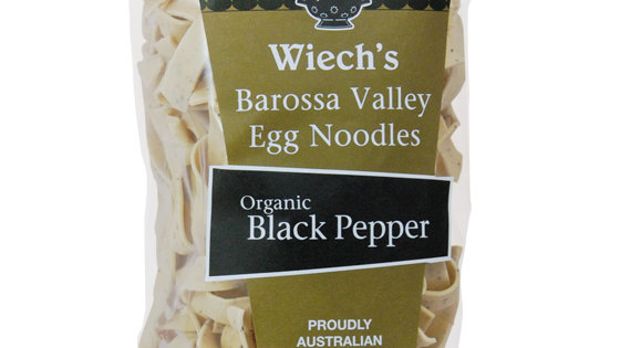 Wiech's Organic Black Pepper Egg Noodles