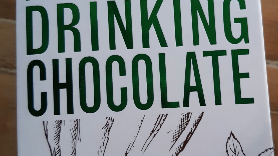 Grounded Pleasures  French Mint Drinking Chocolate 200 gram