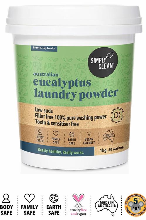 Simply Clean Eucalyptus Laundry Powder