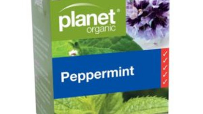 Planet Organic Peppermint Tea Bags 25S