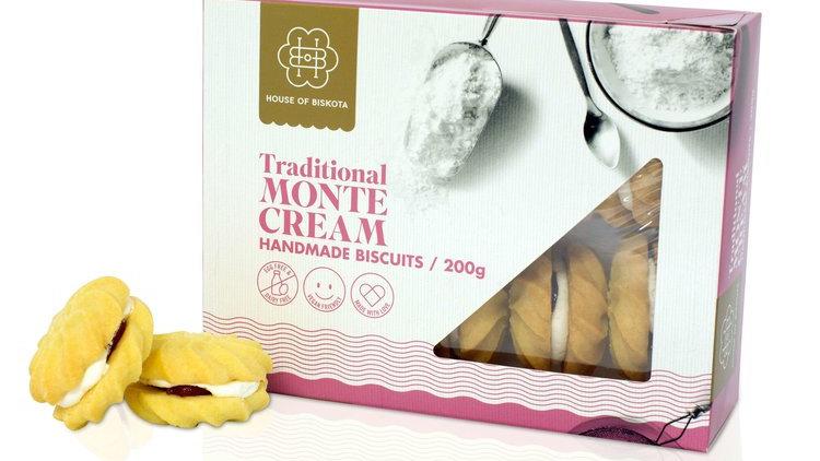 Monte Cream Biscuits 200gram