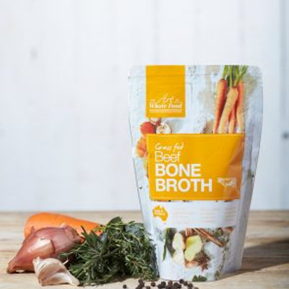 The Art of Whole Food Beef Bone Broth 500ml