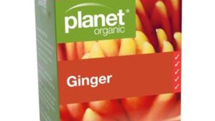 Planet Organic Ginger Tea Bags 25S