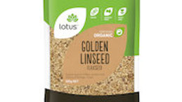 Lotus Golden Linseed (flax seed)