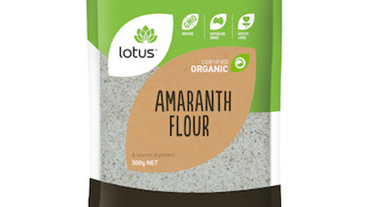 Lotus Amaranth Flour Organic