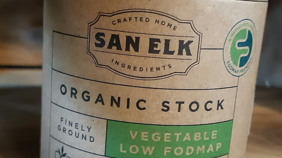 San Elk Organic  Vegetable Stock 160 gram