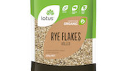 Lotus Rye Flakes Organic Rolled