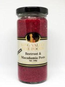 King Valley Beetroot & Macadamia Pesto 240gram