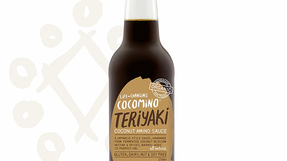 Cocomino - Teriyaki Coconut Amino Sauce - 250ml Bottle