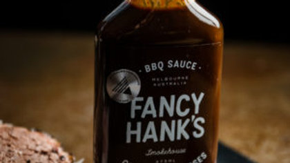 Fancy Hanks  Coffee & Molasses BBQ Sauce 375ml