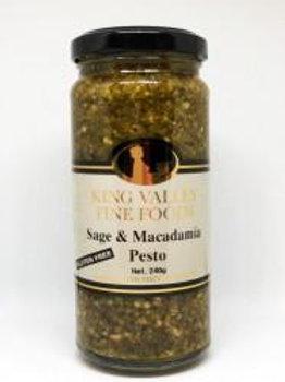 King Valley sage & Macadamia Pesto 240gram
