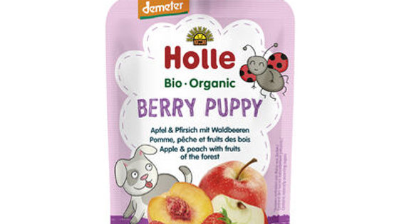 Holle Berry Puppy - Apple & Peach with Fruits of the Forest 100g