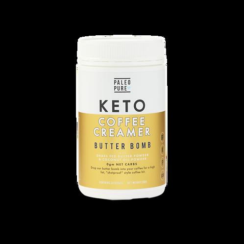 Paleo Pure Keto Coffee Creamer Butter Bomb 250gram