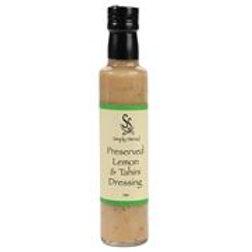 Simply Stirred - Preserved Lemon And Tahini Dressing 250ml Bottle