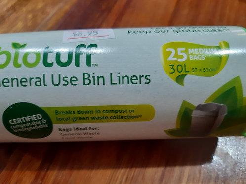 Bio Tuff 30 L Bin Linner 25 s
