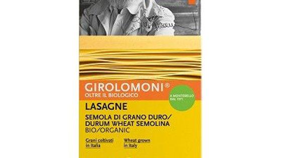 Girolomoni Organic Durum Wheat Semolina Lasagne