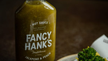 Fancy Hanks  Jalapeno & Peach Hot Sauce 200ml