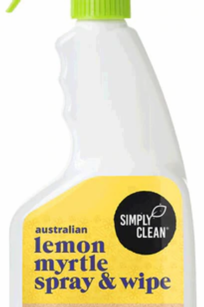 Simply Clean Lemon Myrtle Spray & Wipe