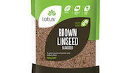 Lotus Linseed Brown (flax seed)
