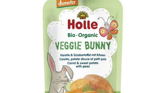 Holle Veggie Bunny - Carrot & Sweet Potato with Peas 100g
