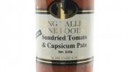King Valley Sundried Tomato & Capsicum Pate 240gram