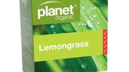 Planet Organic Lemongrass Tea Bags 25S