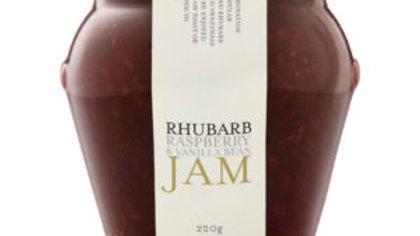 Rhubarb Raspberry & Vanilla Bean Jam 245g