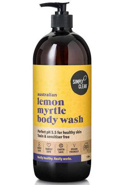 Simply Clean Lemon Myrtle Body Wash