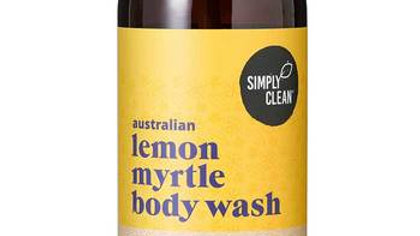 Simply Clean Lemon Myrtle Body Wash