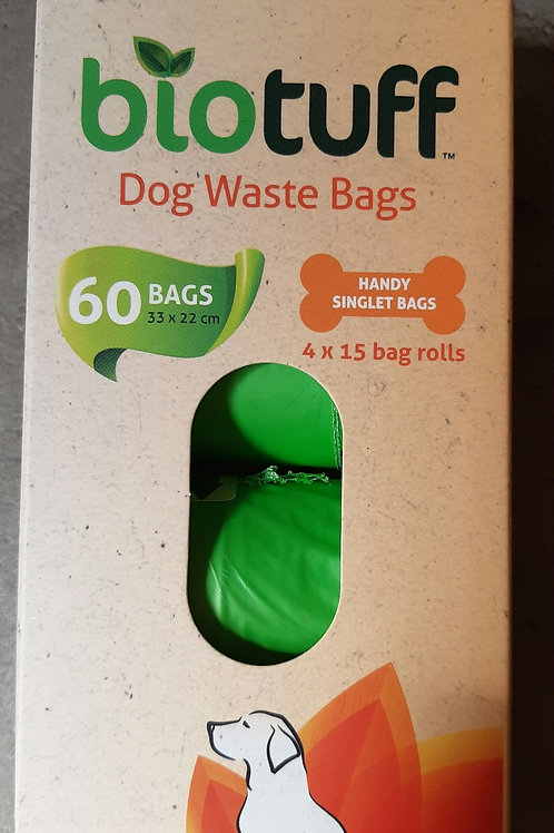 Bio Tuff Doggy Waste Bags 60