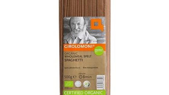 Girolomoni Organic Wholemeal Spelt Spaghetti 500g
