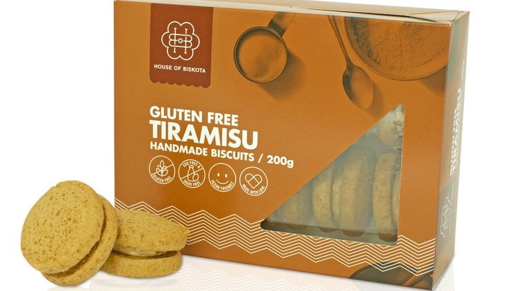 Gluten Free Tiramisu Biscuits 200 gram